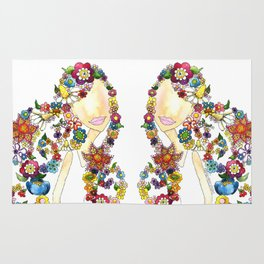 Flower Girl One Rug