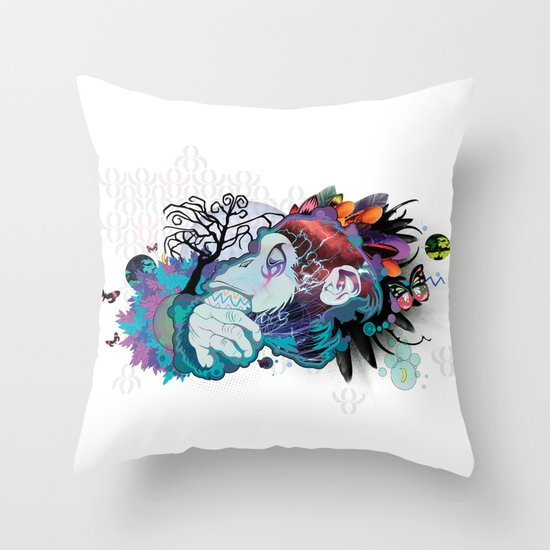 The Elder Throw Pillow