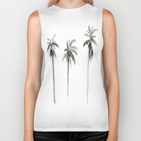 "palms Biker Tanks featuring ""Palms"" by  Tori Wise"