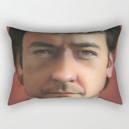 'John Cusack' Rectangular Pillow
