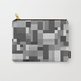 Map Tex Black and White Carry-All Pouch