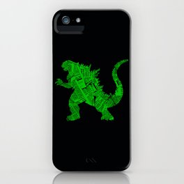 Japanese Monster - II iPhone Case