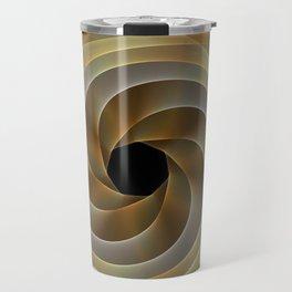 Artistic movement, fractal abstract Travel Mug