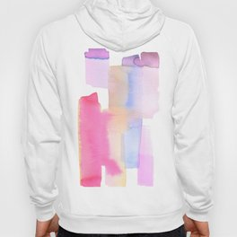 Abstract Lavender Hoody