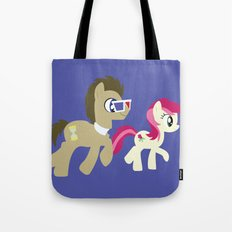 Doctor Whooves & Rose Tote Bag