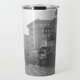 St. Charles Street from Canal, New Orleans, LA Travel Mug