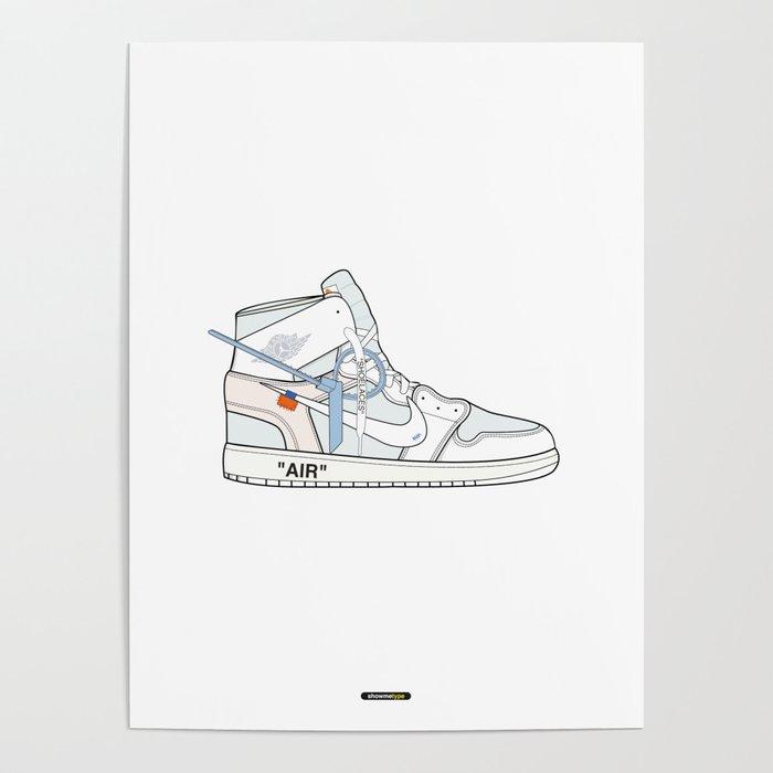 Jordan x Off-White II Poster by