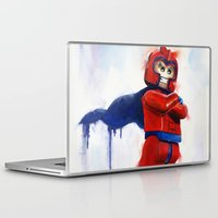 magneto Laptop & iPad Skins featuring Magneto Lego by Toys 'R' Art