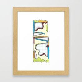 Candy Bar Framed Art Print