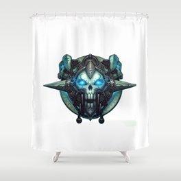 Death Knight Sigil Shower Curtain