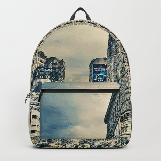 Flatron Building - New York City Backpack