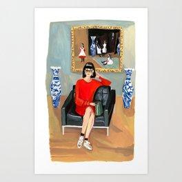 Sargent Girl, All Grown Up Art Print