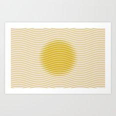 here come the sun Art Print