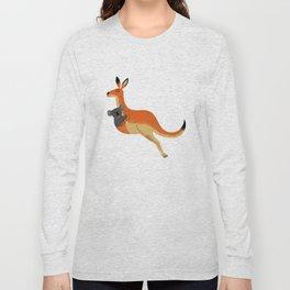 The Kangaroo and The Koala Long Sleeve T-shirt