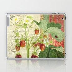 Fraises à la Crème Laptop & iPad Skin