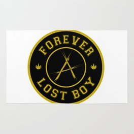Lost Boy Badge Rug