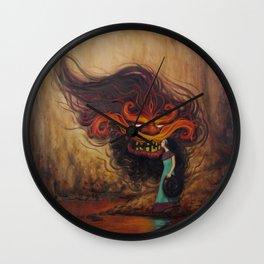 Love the Demon Wall Clock