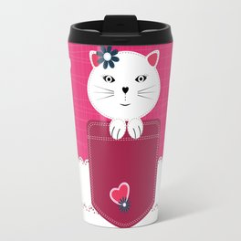 Little cat Travel Mug