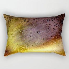 Coloribus infectum tergo glas Rectangular Pillow