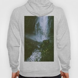 Waterfalls. Flowers. Nature. Hoody