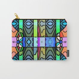 Pretty Rows Carry-All Pouch