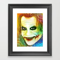 Joker New Framed Art Print