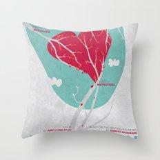 Norwegian Wood Throw Pillow