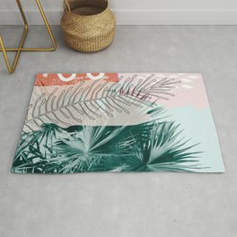 Collage Tropical Rug