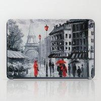 paris iPad Cases featuring Paris by OLHADARCHUK
