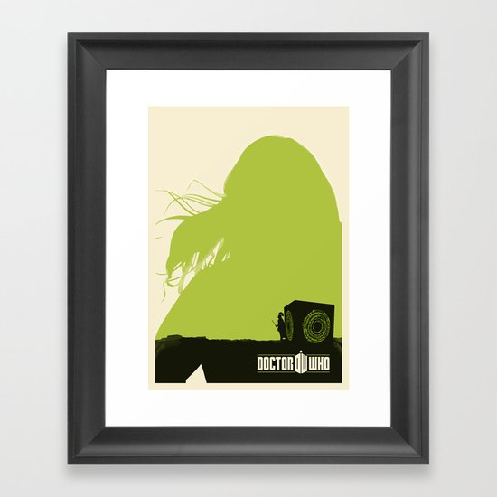 Amy Pond, Rory and Pandorica Framed Art Print