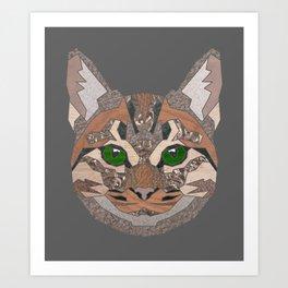 Ppl Lyk Kittehs Art Print