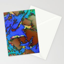 Isolated places 2 Stationery Cards