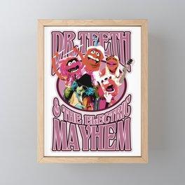 electric muppets doll mayhem Framed Mini Art Print
