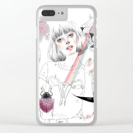 Maria Clear iPhone Case