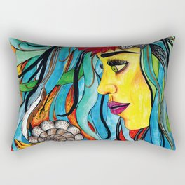 Nymph Rectangular Pillow