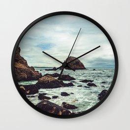 Point Reyes Elephant Rock Wall Clock