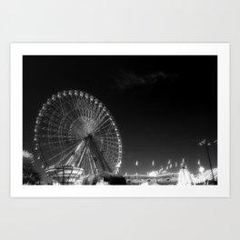 State Fair of Texas Ferris Wheel Art Print