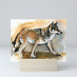 Totem Chinese Tibetan Wolf Mini Art Print