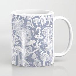 Delicious Autumn botanical poison IV // blue grey background Coffee Mug