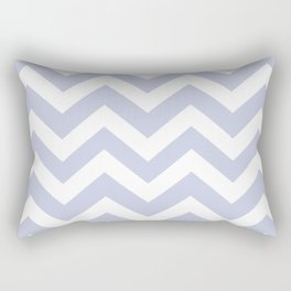Light periwinkle - heavenly color - Zigzag Chevron Pattern Rectangular Pillow