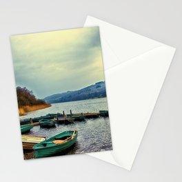 Boats on Esthwaite Stationery Cards
