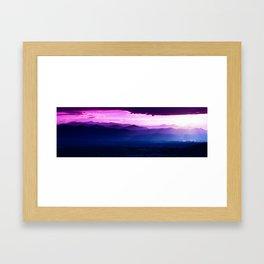 Twilight Symphony Framed Art Print
