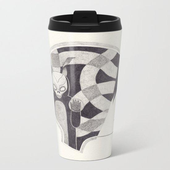 mad world Metal Travel Mug