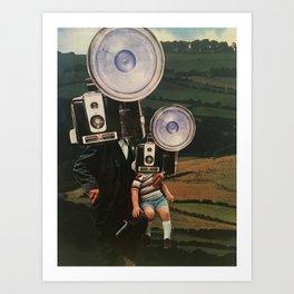 The Secret Life Of Cameras II Art Print