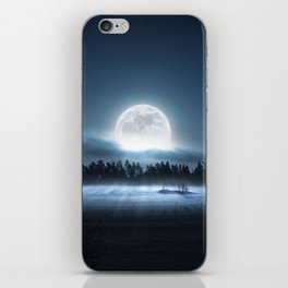 When the moon wakes up iPhone Skin