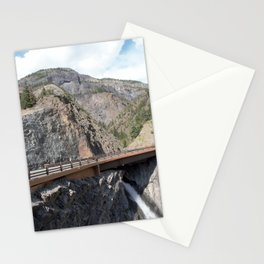 Bear Creek Falls in the Uncompahgre Gorge Stationery Cards