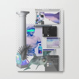 Reality Virtual Metal Print