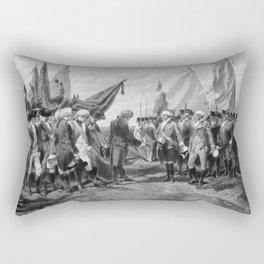 The Surrender Of Cornwallis At Yorktown Rectangular Pillow