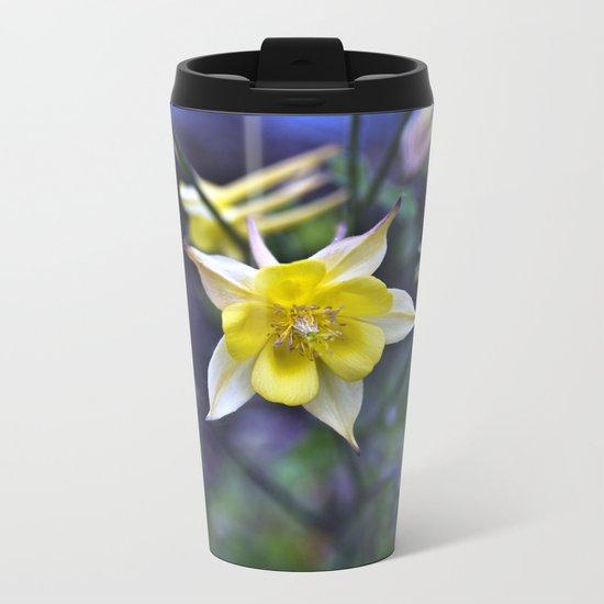 Summery breathing of flowers Metal Travel Mug