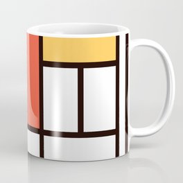 Mondrian 2 Coffee Mug